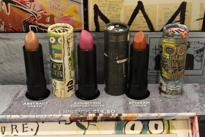 The new lipsticks